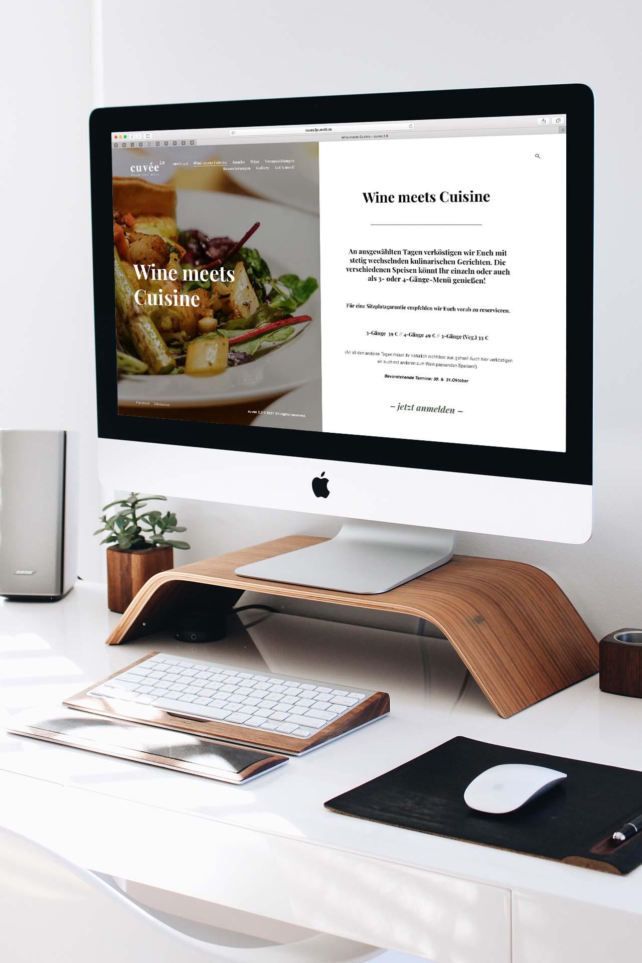 cuvee-website