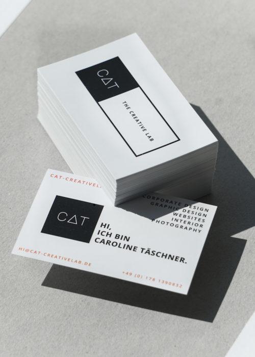 CAT - creative lab Visitenkarte 2