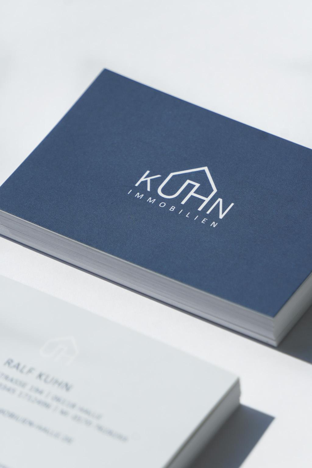 Kuhn-Immobilien Visitenkarte