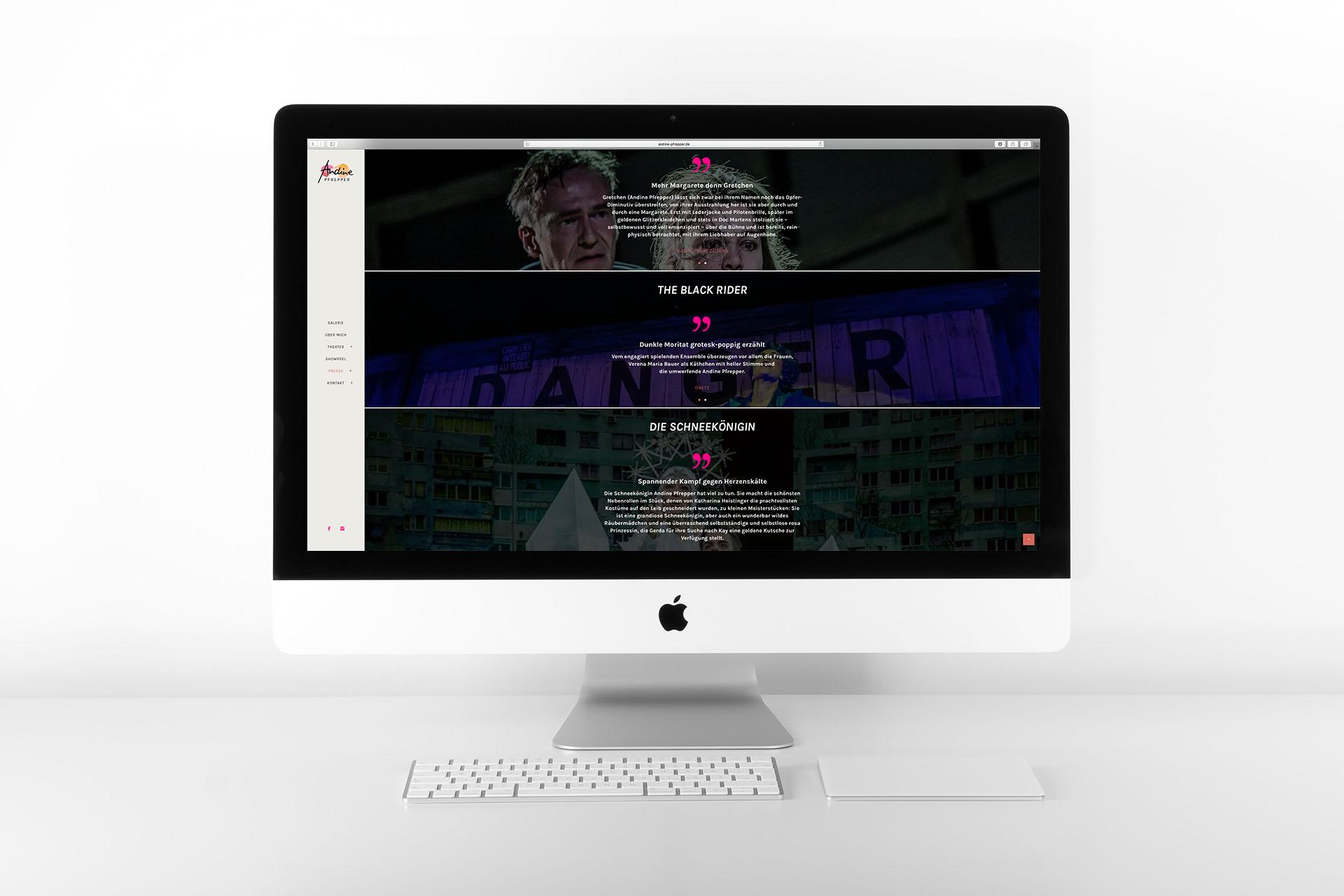Andine Pfrepper Website – Presse2