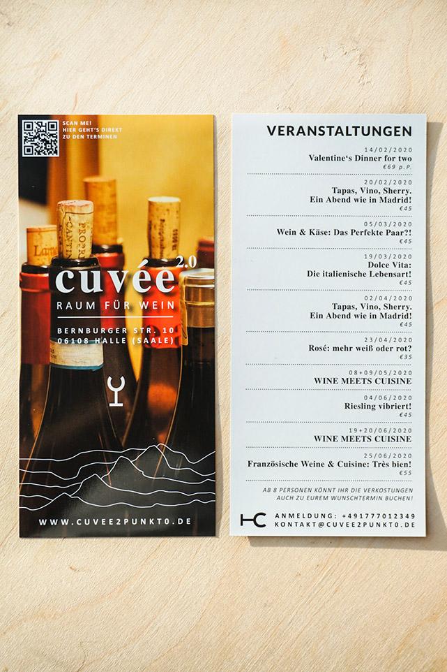 Cuvée 2.0 – Flyer